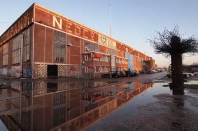 exterieur NDSM-werf, Amsterdam
